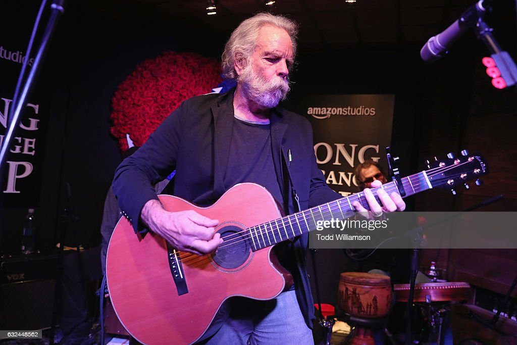 Bob Weir of The Grateful Dead performs onstage during the Amazon Studios celebration of 'Long Strange Trip' at the 2017 Sundance Film Festival, featuring a performance by Mickey Hart, Bill Kreutzmann, and Bob Weir, on January 22, 2017 in Park City, Utah.