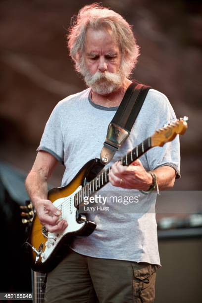 Bob Weir performing with 'Ratdog' at Red Rocks Amplitheater in Morrison Colorado on July 11 2014