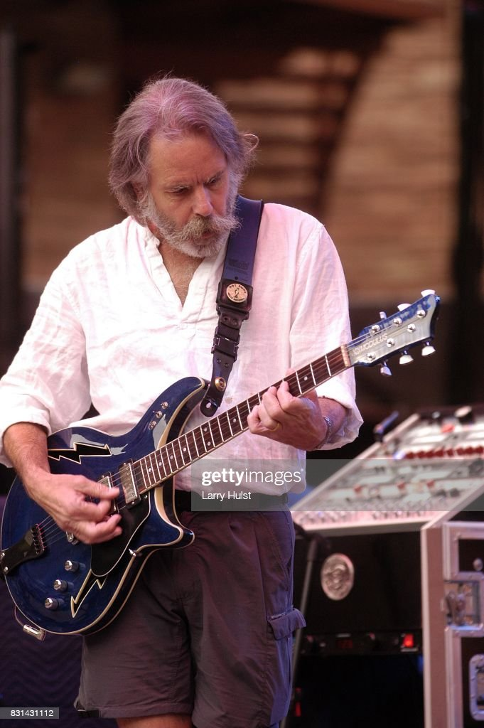 Bob Weir performing with 'Ratdog' at the Red Rocks Amphitheatre in Morrison, CO on July 2, 2006.