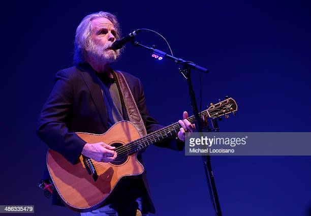 Bob Weir performs onstage at 'The Other One The Long Strange Trip of Bob Weir' Concert during the 2014 Tribeca Film Festival at BMCC Tribeca PAC on...