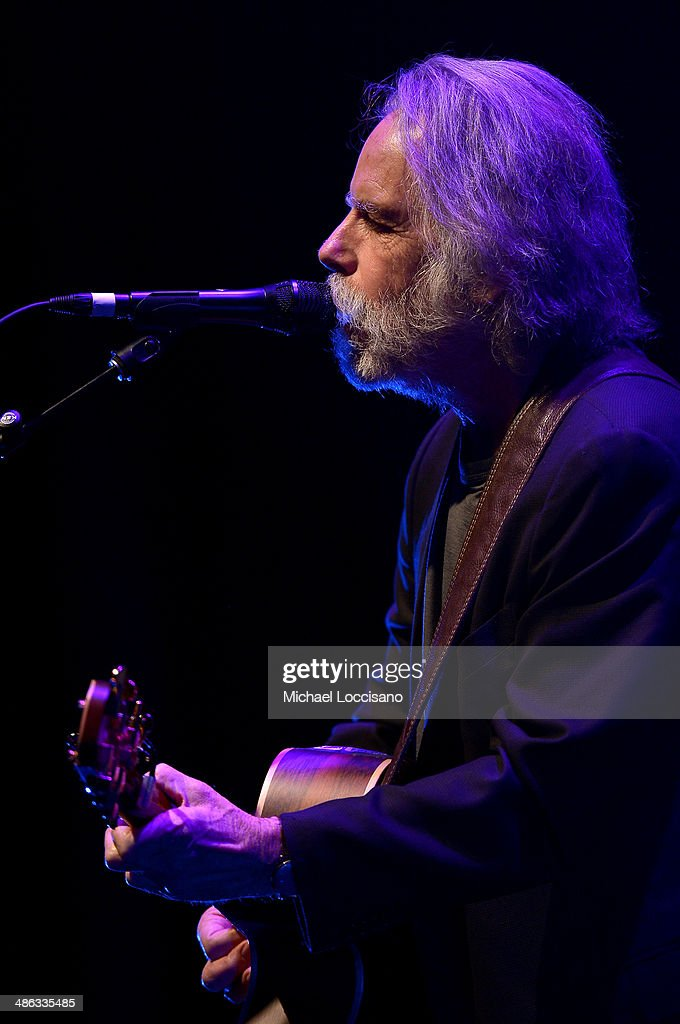 Bob Weir performs onstage at 'The Other One: The Long, Strange Trip of Bob Weir' Concert during the 2014 Tribeca Film Festival at BMCC Tribeca PAC on April 23, 2014 in New York City.