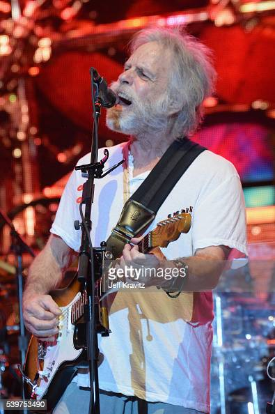 Bob Weir performs onstage with Dead Co at What Stage during Day 4 of the 2016 Bonnaroo Arts And Music Festival on June 9 2016 in Manchester Tennessee