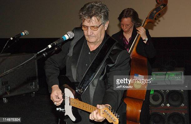 Bob Wootton performing with the Tennessee Three celebrates the DVD release of 'Walk the Line' at a special Arclight screening featuring live musical...