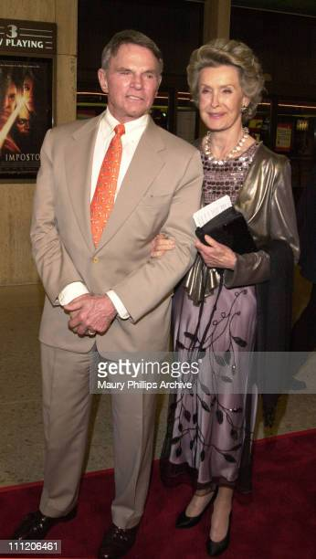 Bob Zumba and Dina Merrill during AE and RKO Pictures Benefit Screening of Telefilm 'The Mangnificent Ambersons' at Lowes Cineplex Odeon Theatre in...
