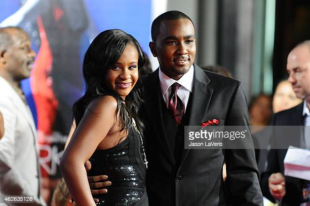 Bobbi Kristina Brown and Nick Gordon attend the premiere of 'Sparkle' at Grauman's Chinese Theatre on August 16 2012 in Hollywood California