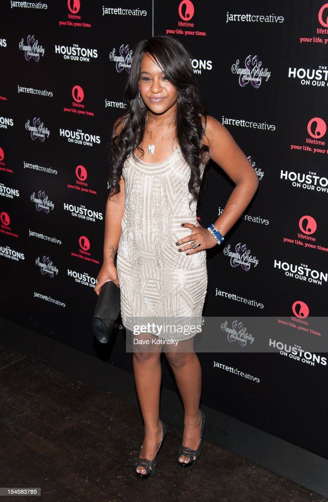 Bobbi Kristina Brown attends 'The Houstons: On Our Own' Series Premiere Party at Tribeca Grand Hotel on October 22, 2012 in New York City.