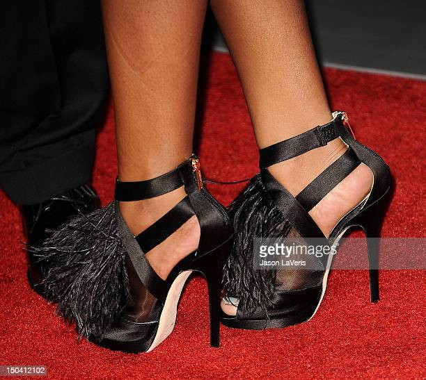 Bobbi Kristina Brown attends the premiere of 'Sparkle' at Grauman's Chinese Theatre on August 16 2012 in Hollywood California