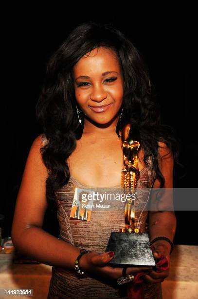 Bobbi Kristina Brown poses backstage at the 2012 Billboard Music Awards at the MGM Grand Garden Arena on May 20 2012 in Las Vegas Nevada