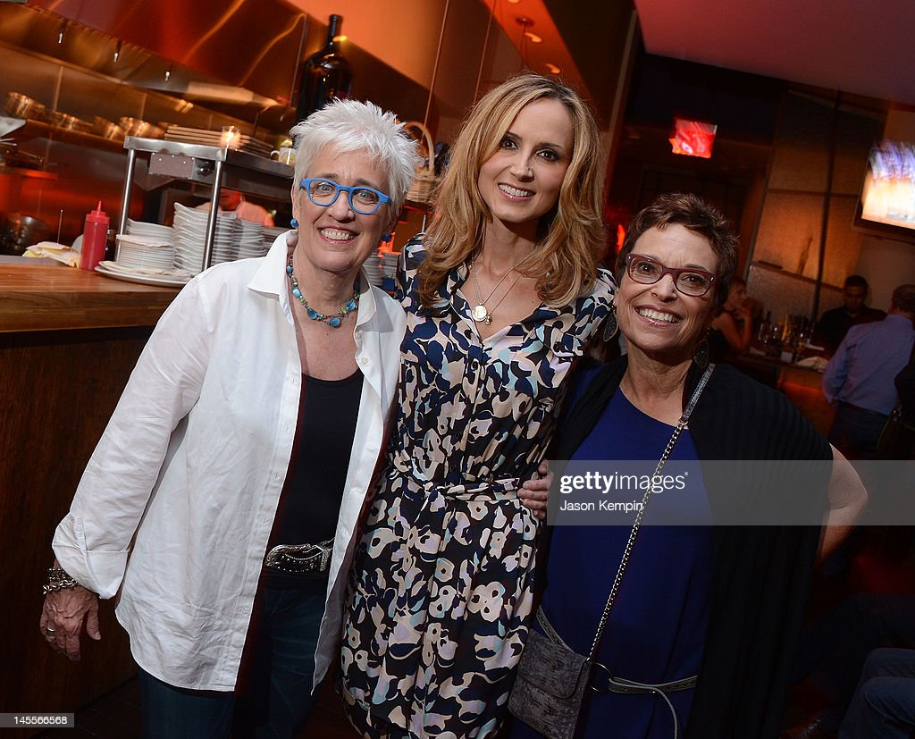 Bobbie Birleffi, Chely Wright and Beverly Kopf attend the 'Chely Wright: Wish Me Away' New York After Party at Zio Restaurant on June 1, 2012 in New York City.