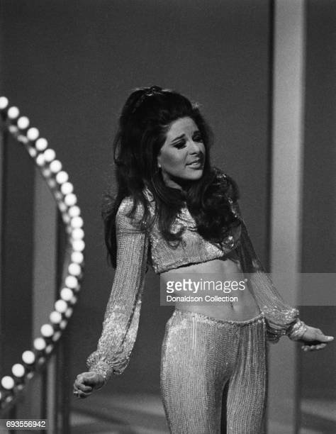 Bobbie Gentry performs on 'This Is Tom Jones' TV show in circa 1970 in Los Angeles California