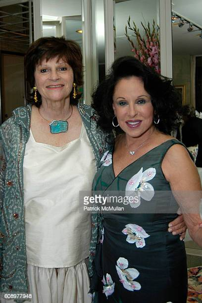 Bobbie Gerson and Nikki Haskell attend Nikki Haskell Birthday Celebration at Sierra Towers on May 17 2007 in West Hollywood CA