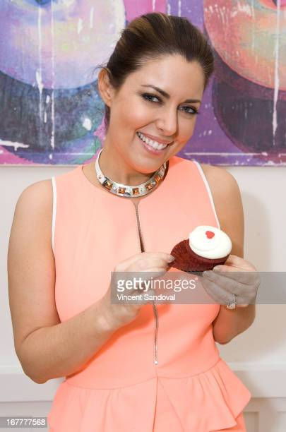 Bobbie Thomas attends the launch party for 'The Power Of Style' at Georgetown Cupcake Los Angeles on April 29 2013 in Los Angeles California