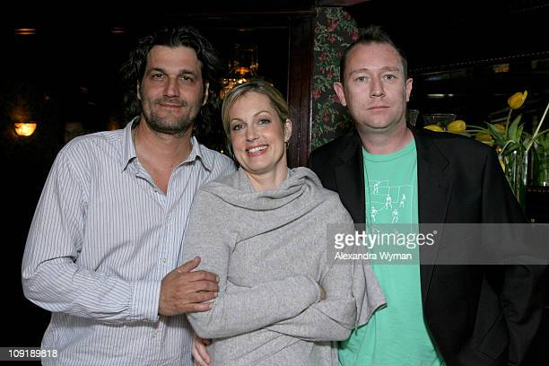 Bobby Bauer Ali Wentworth and Jason Farrand during 'Head Case' Season Premiere Party in Los Angeles at Private Residence in Los Angeles California...