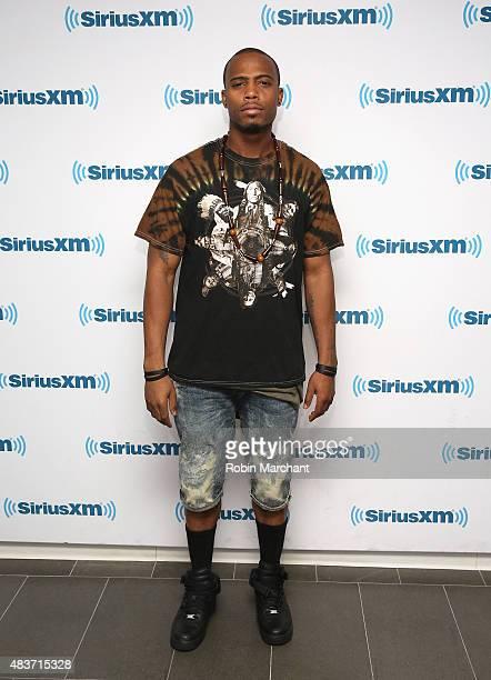 Bobby 'BoB' Ray Simmons Jr visits at SiriusXM Studios on August 12 2015 in New York City