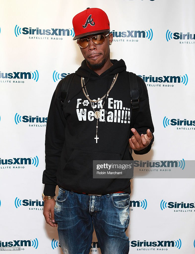 Bobby 'B.o.B' Ray visits the SiriusXM Studios on December 19, 2012 in New York City.