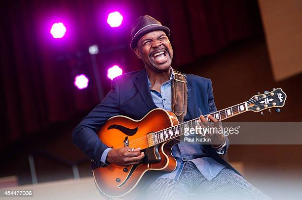 Bobby Broom performs during 2014 Chicago Jazz Festival at Grant Park on August 31 2014 in Chicago Illinois