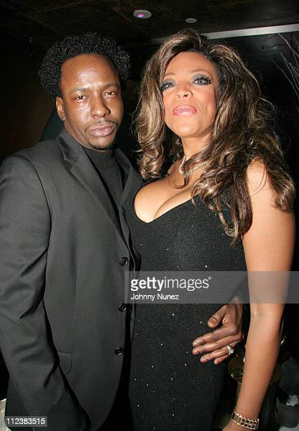 Bobby Brown and Wendy Williams during Wendy Williams presents Dons and Diva's Black Party Hosted by Mary J Blige Inside at Crobar in New York City...