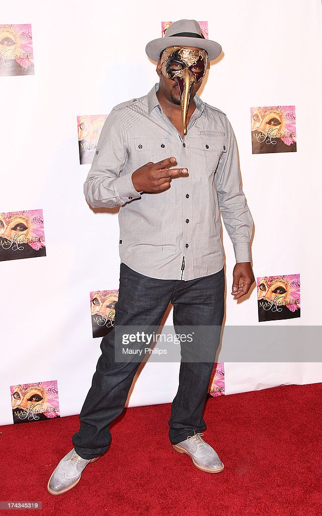 Bobby Brown arrives at Kym Whitley's 40th Birthday Celebration at Rain Nightclub on July 23, 2013 in Studio City, California.