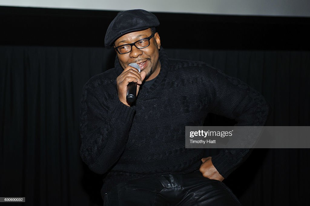 Bobby Brown attends BET's screening of The New Edition Story on January 3, 2017 in Chicago, Illinois.