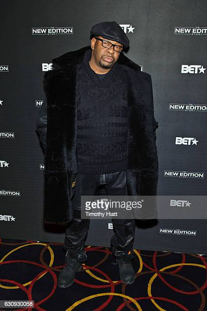 Bobby Brown attends BET's screening of The New Edition Story on January 3 2017 in Chicago Illinois