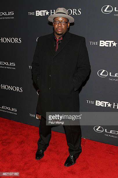 Bobby Brown attends the 2015 BET Honors at the Warner Theatre on January 24 2015 in Washington DC