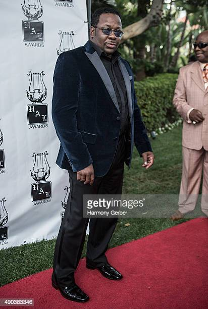 Bobby Brown attends the 26th Annual Heroes and Legends Awards at Beverly Hills Hotel on September 27 2015 in Beverly Hills California