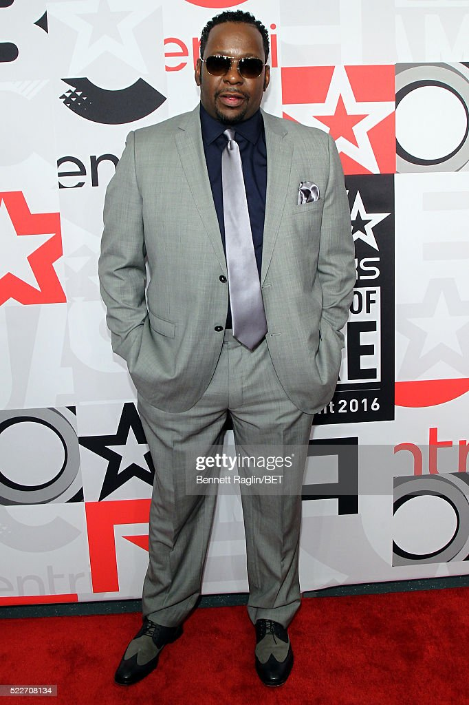 Bobby Brown attends the BET Networks 2016 Upfront at Rose Hall at Jazz at Lincoln Center on April 20, 2016 in New York City.