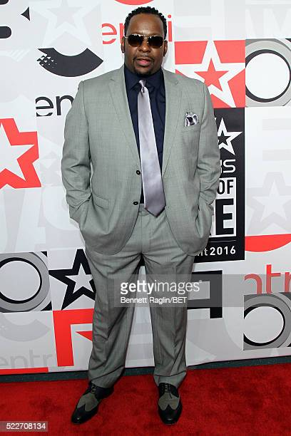Bobby Brown attends the BET Networks 2016 Upfront at Rose Hall at Jazz at Lincoln Center on April 20 2016 in New York City