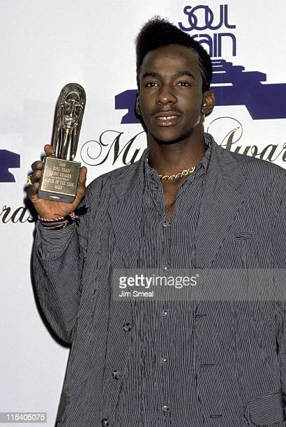 Bobby Brown during The 3rd Annual Soul Train Awards at Shrine Auditorium in Los Angeles California United States