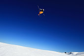 Bobby Brown of the United States competes in the FIS Freestyle Ski World Cup Slopestyle Qualification during the Winter Games NZ at Cardrona Alpine...