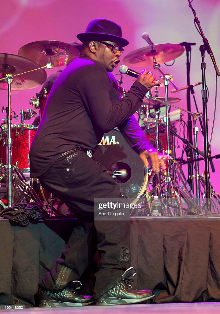 Bobby Brown performs in concert at The Soundboard, Motor City Casino on January 31, 2013 in Detroit, Michigan.