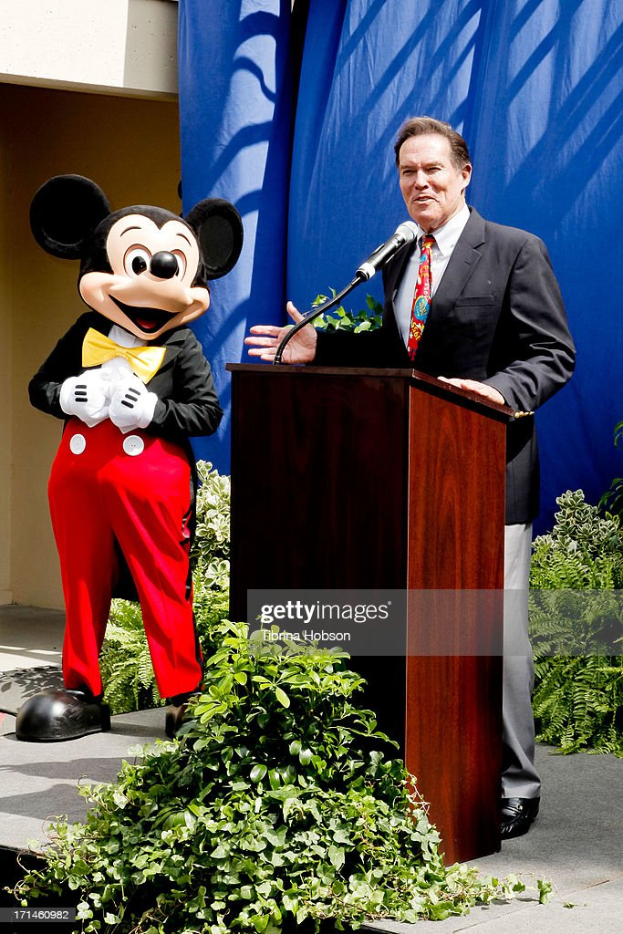 Bobby Burgess attends the stage one rededication ceremony hosted by Walt Disney Company CEO Bob Iger honoring 'America's Sweetheart' Annette Funicello at Walt Disney Studios on June 24, 2013 in Burbank, California.