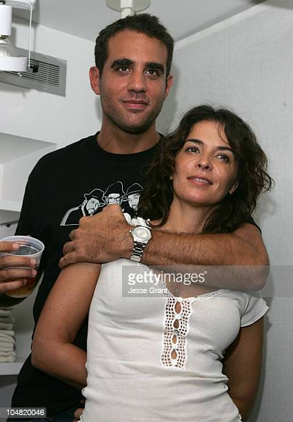 Bobby Cannavale and Annabella Sciorra during 2005 Toronto Film Festival 'HD Net Films' Party at Premiere Lounge at Club Monaco in Toronto Canada