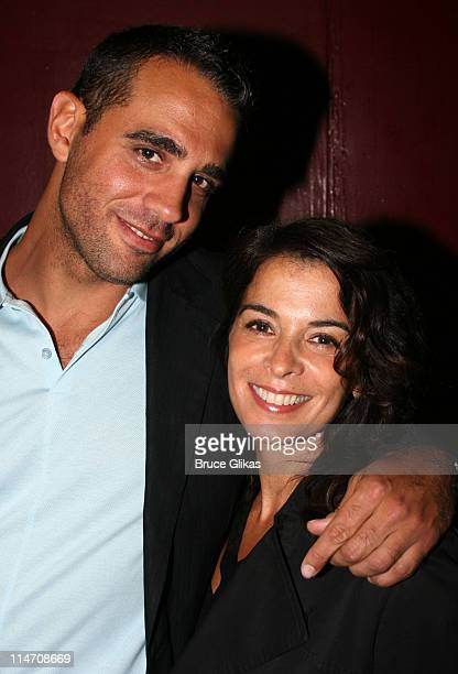 Bobby Cannavale and Annabella Sciorra during Opening Night for Neil LaBute's 'Some Girl' Off Broadway at The Lortel Theater/Robert Miller Gallery NYC...