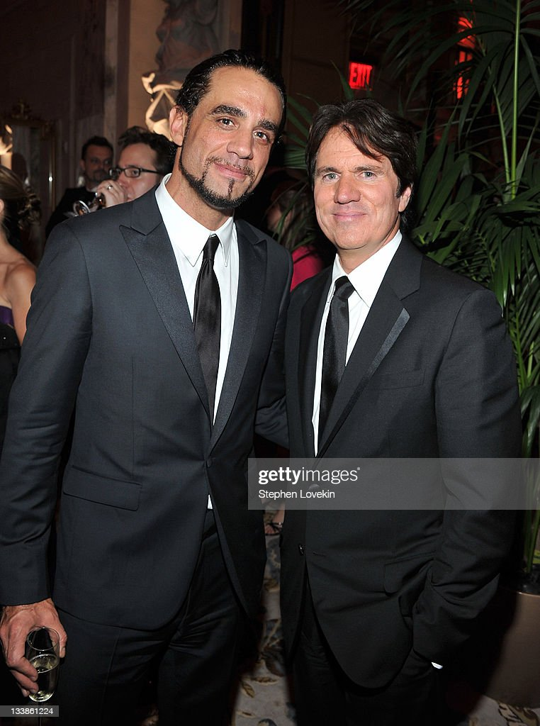 Bobby Cannavale (L) and Rob Marshall attend the party following the 65th Annual Tony Awards at on June 12, 2011 in New York City.