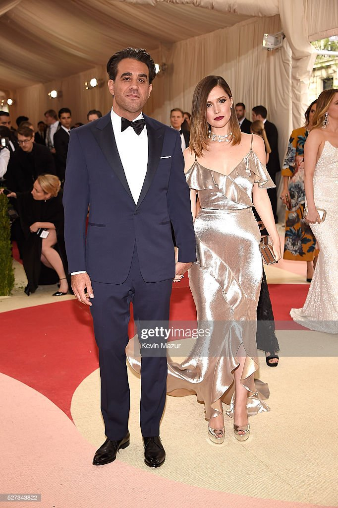 Bobby Cannavale and Rose Byrne attend 'Manus x Machina: Fashion In An Age Of Technology' Costume Institute Gala at Metropolitan Museum of Art on May 2, 2016 in New York City.