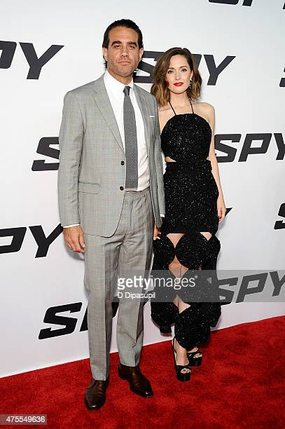 Bobby Cannavale and Rose Byrne attend the 'Spy' New York Premiere at AMC Loews Lincoln Square on June 1 2015 in New York City