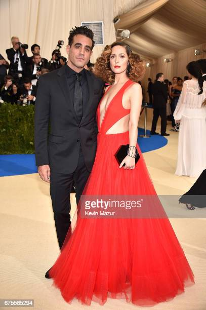 Bobby Cannavale and Rose Byrne attends the 'Rei Kawakubo/Comme des Garcons Art Of The InBetween' Costume Institute Gala at Metropolitan Museum of Art...