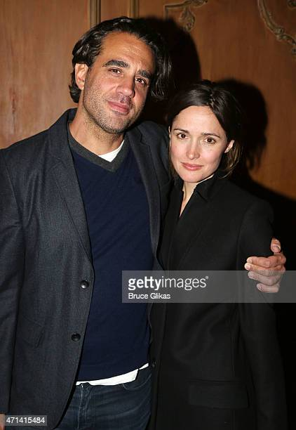 Bobby Cannavale and Rose Byrne pose at the After Party for The Acting Company benefit production of Tennessee Williams' 'The Rose Tattoo' on Broadway...