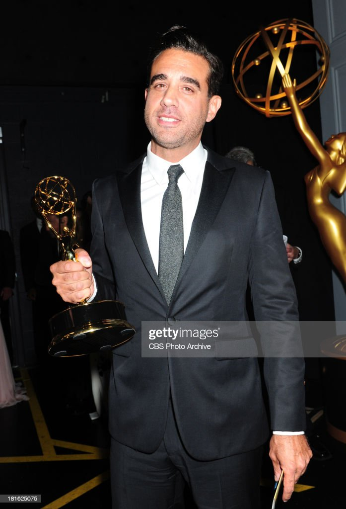 <a gi-track='captionPersonalityLinkClicked' href=/galleries/search?phrase=Bobby+Cannavale&family=editorial&specificpeople=211166 ng-click='$event.stopPropagation()'>Bobby Cannavale</a> at the 65th Primetime Emmy Awards which will be broadcast live across the country 8:00-11:00 PM ET/ 5:00-8:00 PM PT from NOKIA Theater L.A. LIVE in Los Angeles, Calif., on Sunday, Sept. 22 on the CBS Television Network.