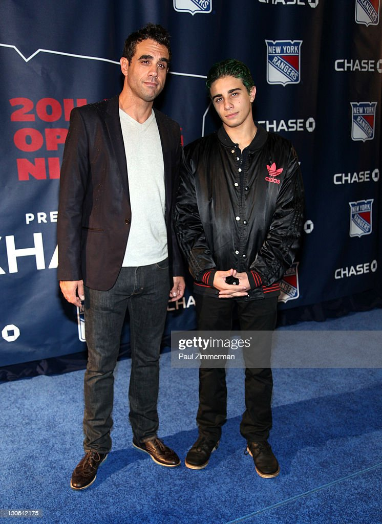 Bobby Cannavale attends the New York Rangers home opener at Madison Square Garden on October 27, 2011 in New York City.