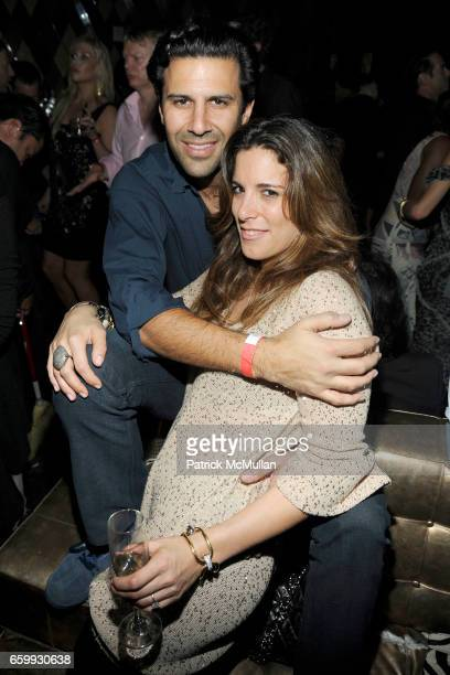 Bobby Cayre and Eleanor Cayre attend Party at WALL Hosted by VITO SCHNABEL STAVROS NIARCHOS ALEX DELLAL at WALL at the W SOUTH BEACH on December 3...
