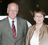 Bobby Charlton and wife attend the Laureus World Sports Awards dinner at the Parc del Forum May 21 2006