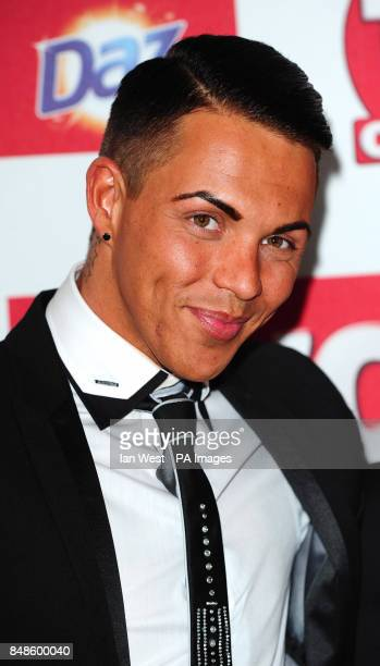 Bobby Cole Norris arrives at the TV Choice Awards at the Dorchester hotel in London