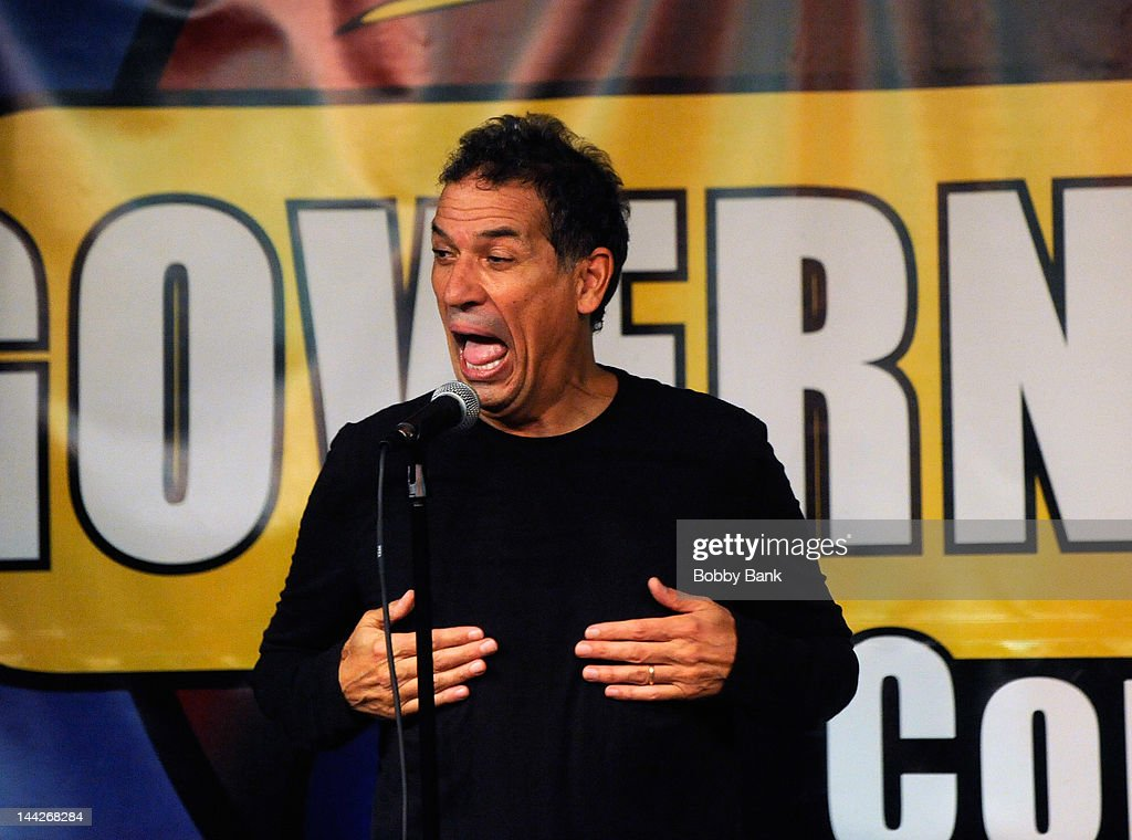 Bobby Collins performs at Governor's Comedy Club on May 12 2012 in Levittown New York