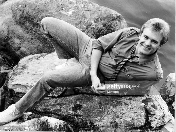 Bobby Davro actor television's funnyman stars in a circus version of Goldilocks and the Three Bears June 1985
