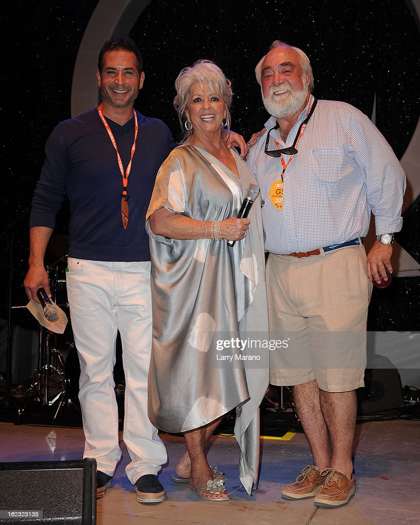 Paula deen photo getty images - Bobby Deen Paula Deen And Her Husband Michael Groover Attend South Beach Wine And Food