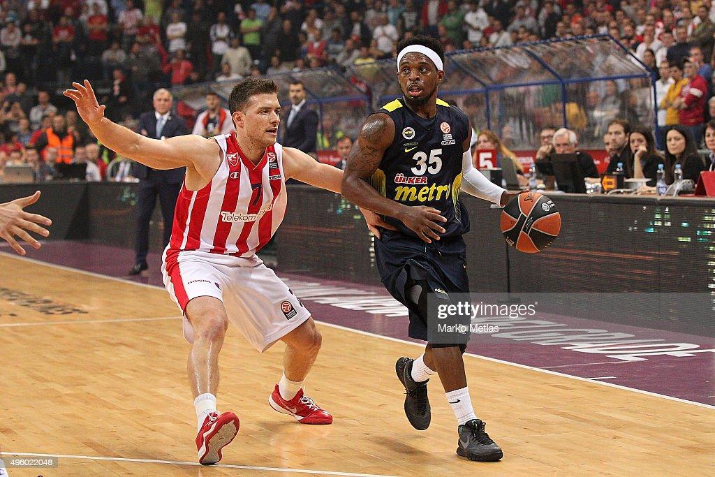 Crvena Zvezda Telekom Belgrade v Fenerbahce Istanbul - Turkish Airlines Euroleague