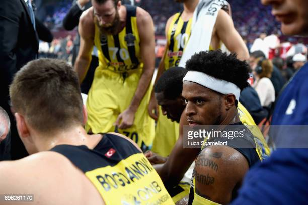 Bobby Dixon #35 of Fenerbahce Istanbul during the Championship Game 2017 Turkish Airlines EuroLeague Final Four between Fenerbahce Istanbul v...
