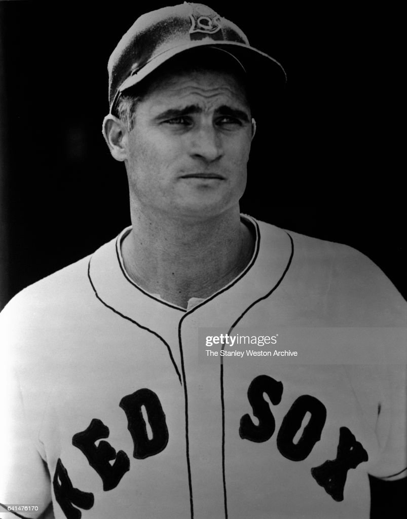 Bobby Doerr #1 of the Boston Red Sox poses for a portrait in 1951.